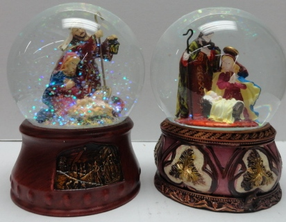 Nativity Water Globe